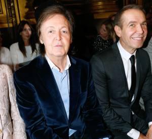Sir Paul McCartney au défilé Stella McCartney Printemps-Été 2014.