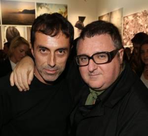 "Giambattista Valli et Alber Elbaz à la signature du livre ""Giambattista Valli""."