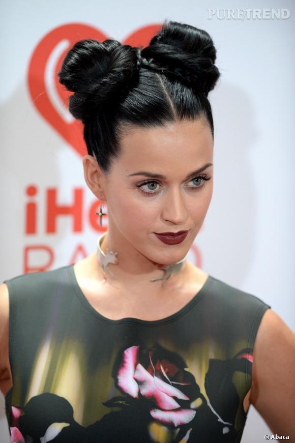 Katy Perry et son chignon inspiré des mangas.