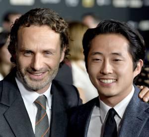 The Walking Dead saison 4 : les acteurs reunis pour la premiere a Universal City