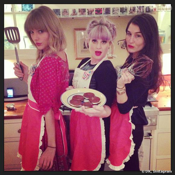 Taylor Swift et Kelly Osbourne, prêtes pour Master Chef !