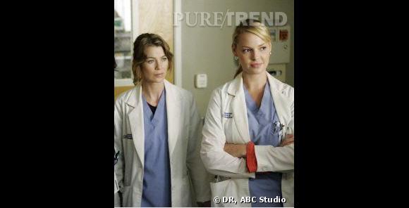 Ellen Pompeo et Katherine Heigl se sont connues lors de la première saison de Grey's Anatomy.