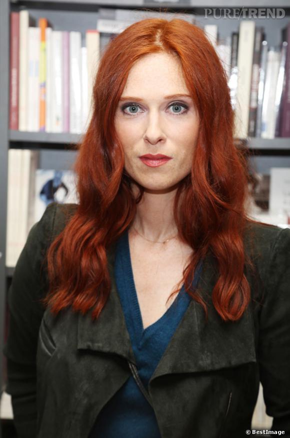 Pour l'une de ses dernières apparitions en date, Audrey Fleurot est apparue, magnétique, avec des cheveux longs.