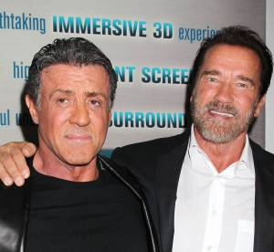 Arnold Schwarzenegger et Sylvester Stallone, rivaux et amis dans Evasion