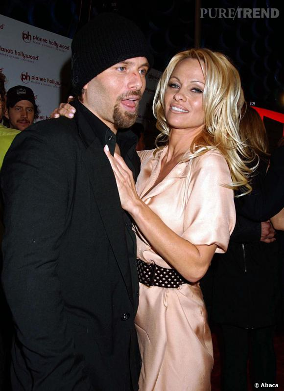 "Pamela Anderson et son troisième mari : Rick Salomon. Son acuel ""friend with benefits""."