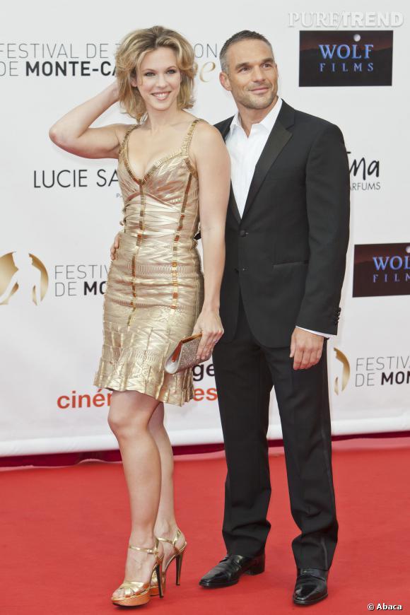 Lorie et son ex petit ami Philippe Bas, couple en or au Festival de Monte-Carlo.