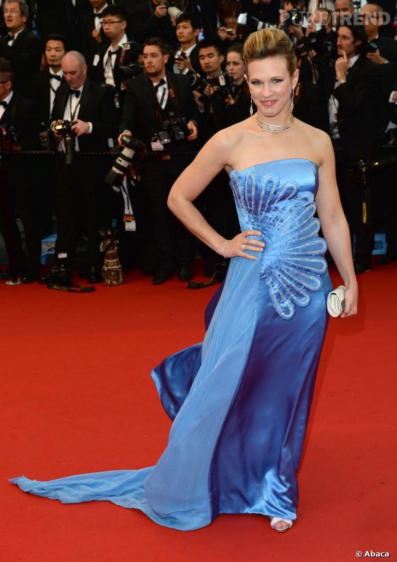 """Lorie à l'avant-première de """"Gatsby le Magnifique"""" au Festival de Cannes 2013."""