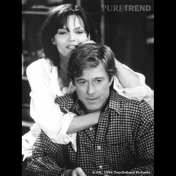 """Michelle Pfeiffer et Robert Redford dans """"Personnel et confidentiel"""" (1996)."""
