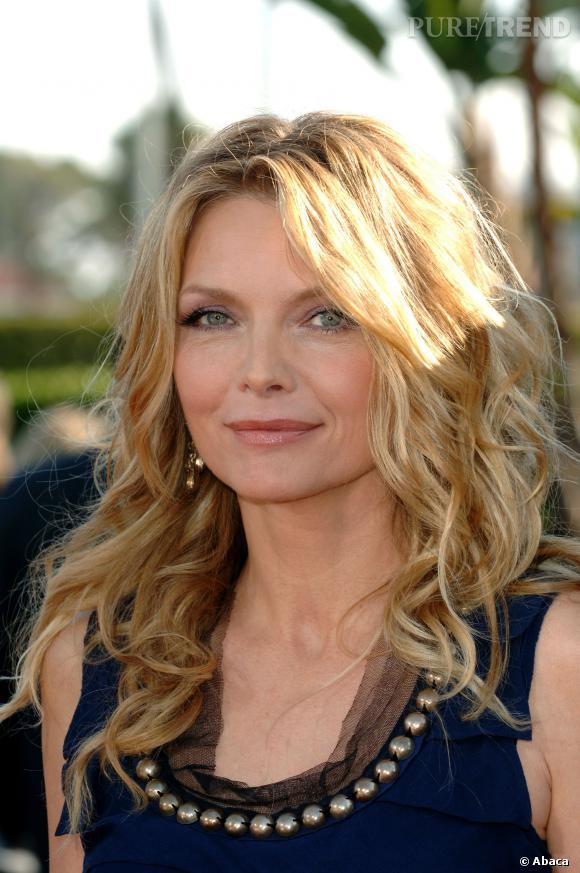 """Michelle Pfeiffer et son joli teint ensoleillé, pour la promo de """"Stardust, le mystère de l'étoile"""" en 2007."""