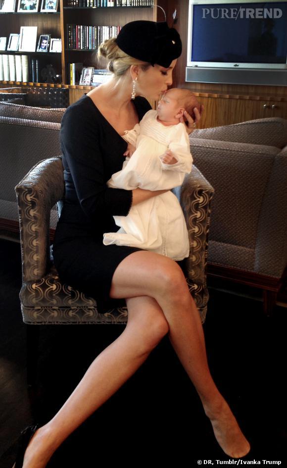 Ivanka Trump a baptisé son petit Joseph le même jour que le baptême du prince George.