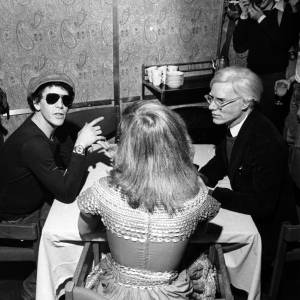 Lou Reed, leader du Velvet Underground avec Andy Warhol dans les années 70.