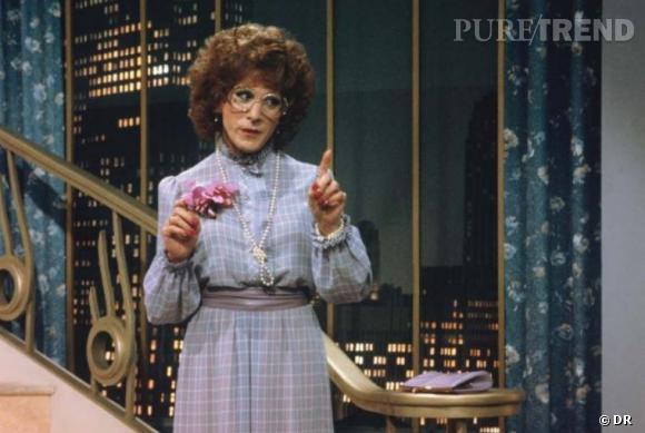 Autre travesti de légende au cinéma, Dustin Hoffman dans Tootsie.