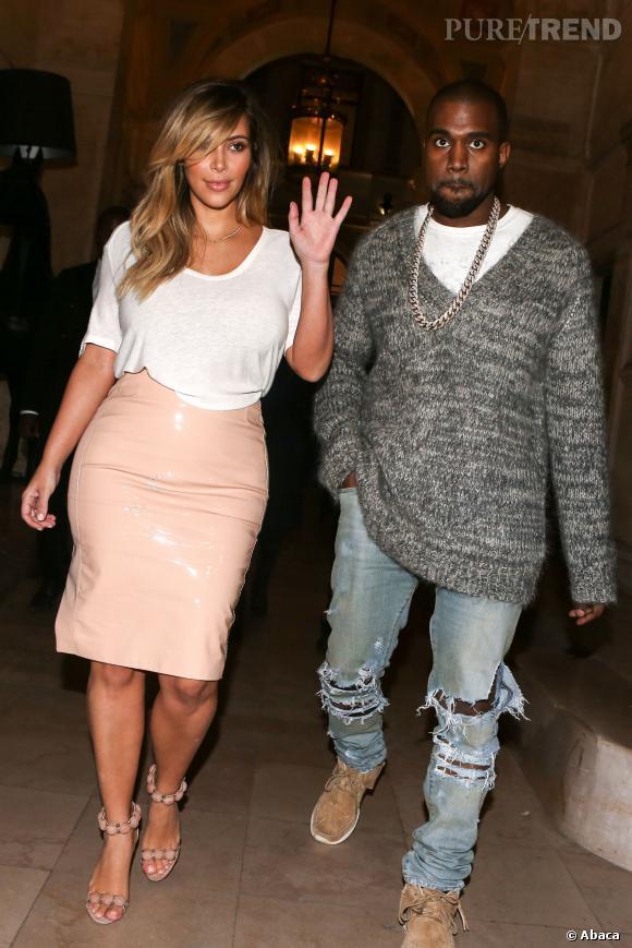 Kim Kardashian et Kanye West, un mariage l'été prochain ?