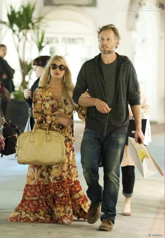 Jessica Simpson et son fiance, Eric Johnson.