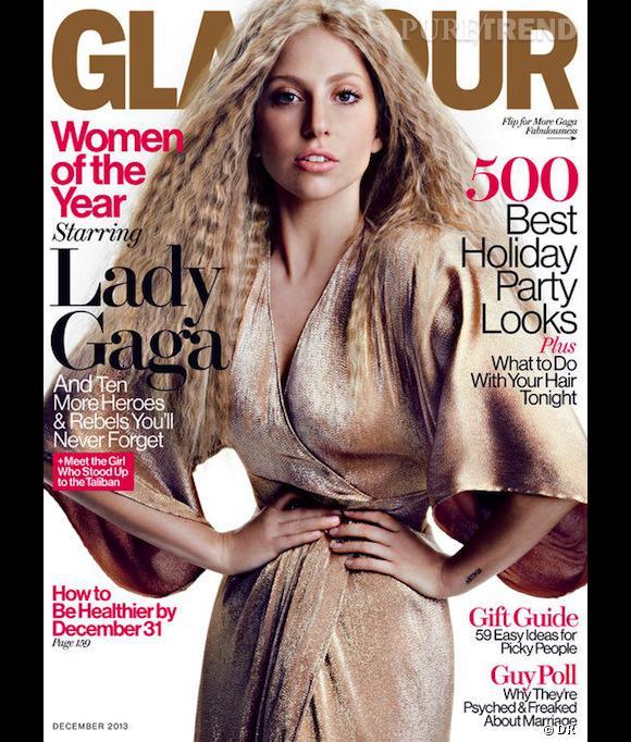 Lady Gaga, photoshoppée en couv de Glamour.