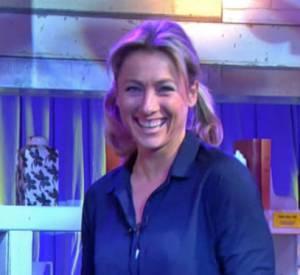 Découvrez la prestation d'Anne-Sophie Lapix dans la peau de Sheila !