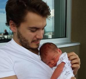 Emile Hirsch pose avec son bébé, Valor et Donald Faison dévoile Rocco !