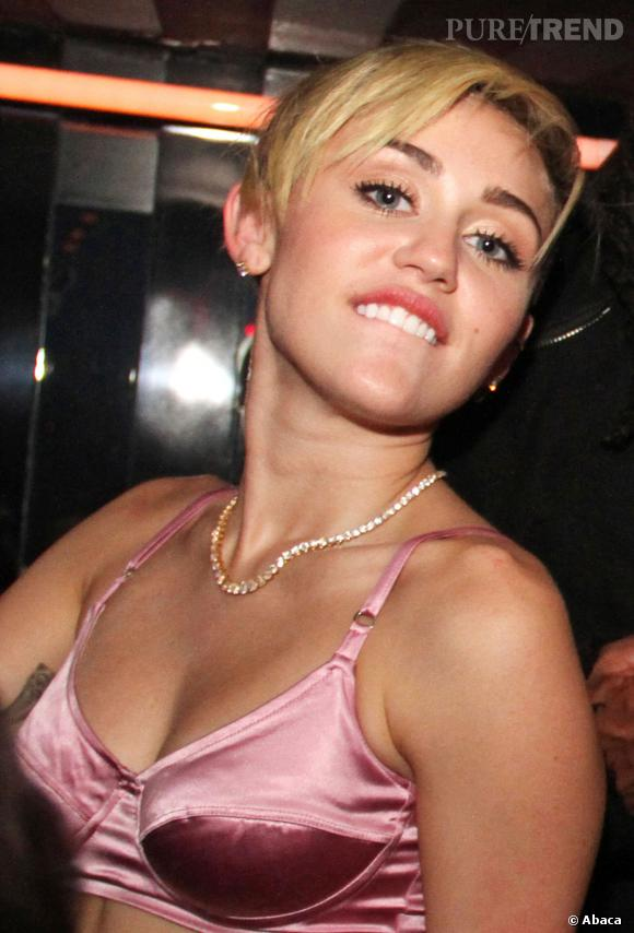 Le nouveau site de Miley Cyrus est d'un autre temps...