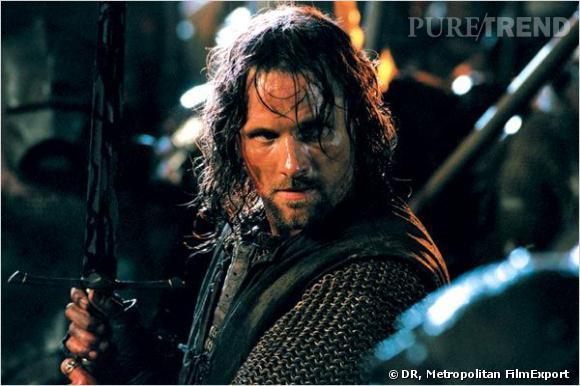 """Viggo Mortensen dans """"Le Seigneur des Anneaux""""."""