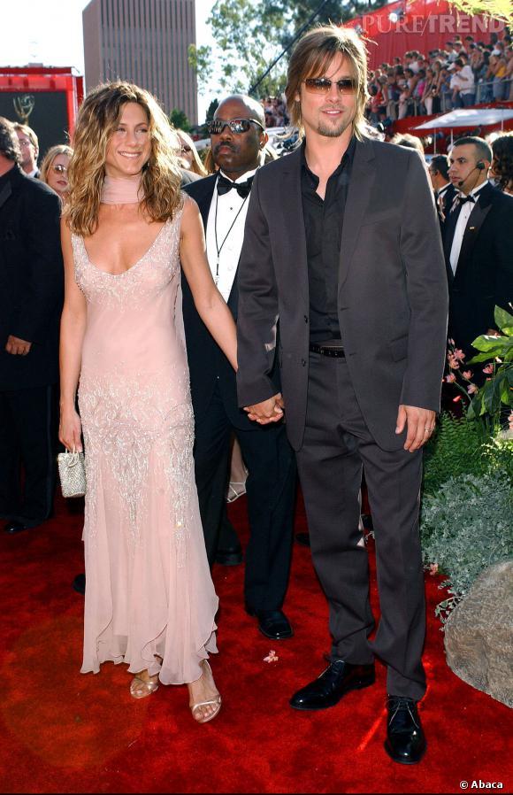 Jennifer Aniston et Brad Pitt ont divorcé en 2005, après 7 ans de mariage.  Une rupture inattendue.