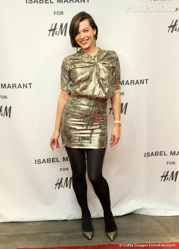 Milla Jovovich en Isabel Marant pour H&M