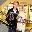 James Cook et Poppy Delevingne en Isabel Marant pour H&M.