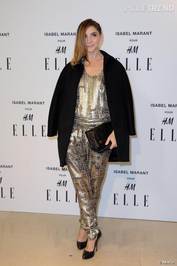 Clotilde Courau en Isabel Marant pour H&M.