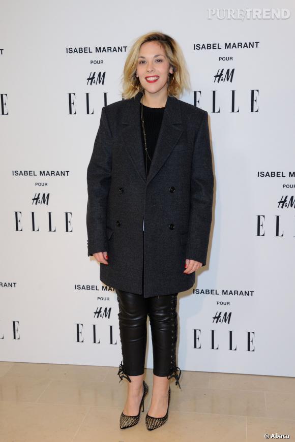 Alysson Paradis en Isabel Marant pour H&M.
