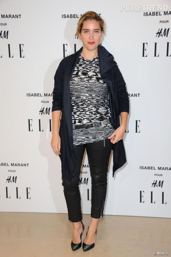 Vahina Giocante en Isabel Marant pour H&M.