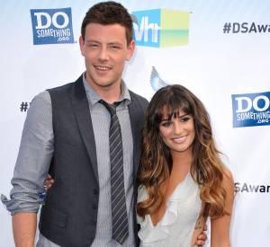 Lea Michele et Cory Monteith, couple à la scène comme à la ville.