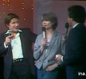 Jacques Dutronc et Françoise Hardy interviewés par Michel Drucker.