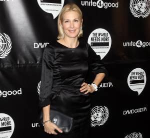 """Kelly Rutherford de """"Gossip Girl"""" était venu soutenir le DJ français."""