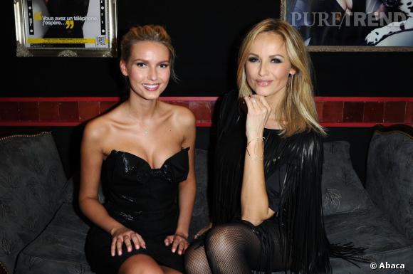 Adriana Cernanova et Adriana Karembeu célèbrent Wonderbra.