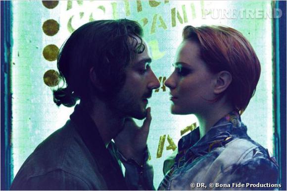 """Shia Labeouf et Evan Rachel Wood dans """"Charlie Countryman"""" : leur scène de cunnilingus censurée."""