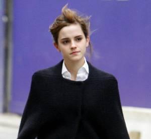 Emma Watson, stylée et audacieuse malgré le froid... Un look à copier !