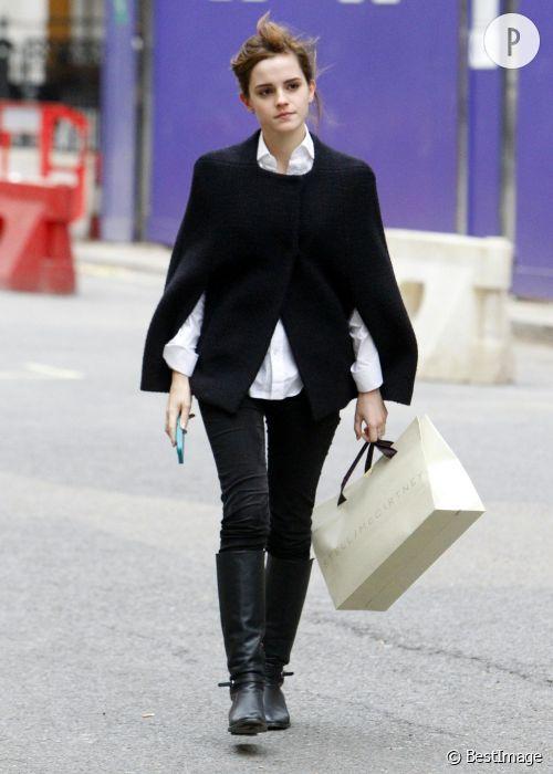 Emma Watson, un look à shopper !