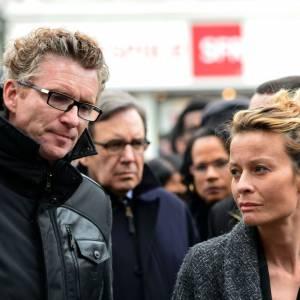 Le 5 avril dernier, Denis Brogniart et sa femme étaient présents à l'enterrement de Gérald Babin, ce candidat décédé en plein tournage de l'émission.
