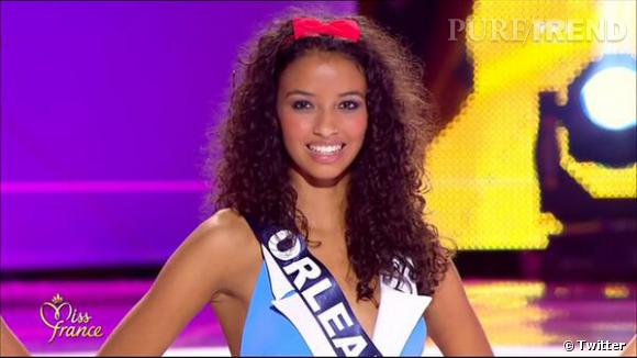 Miss Orleanais, la jolie Miss France 2014.