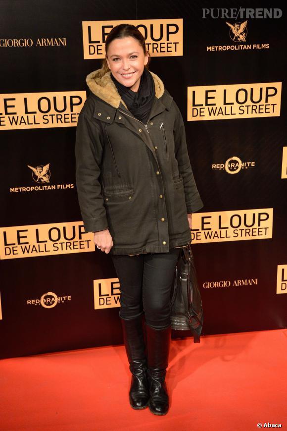 sandrine quetier lavant premire mondiale du film le loup de wall street - Mariage De Sandrine Quetier