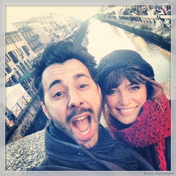 "Loin de ""Danse avec les stars"", Laetita Milot passe du bon temps à Milan avec son mari Badri."