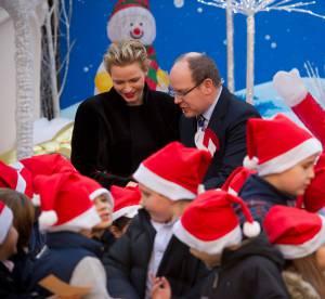 Charlène de Monaco : la nouvelle tata s'entoure d'enfants pour Noël