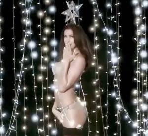 Irina Shayk, Kelly Brook... Le Noël sexy de Love Magazine
