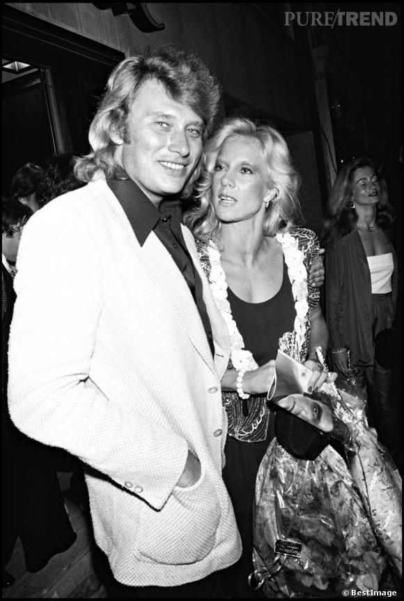 Johnny Hallyday et la chanteuse Sylvie Vartan, une relation qui aura duré 17 ans.
