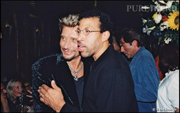 Johnny Hallyday et Lionel Richie.