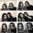 Kim Kardashian et sa soeur Kylie Jenner, visiblement très joueuses.