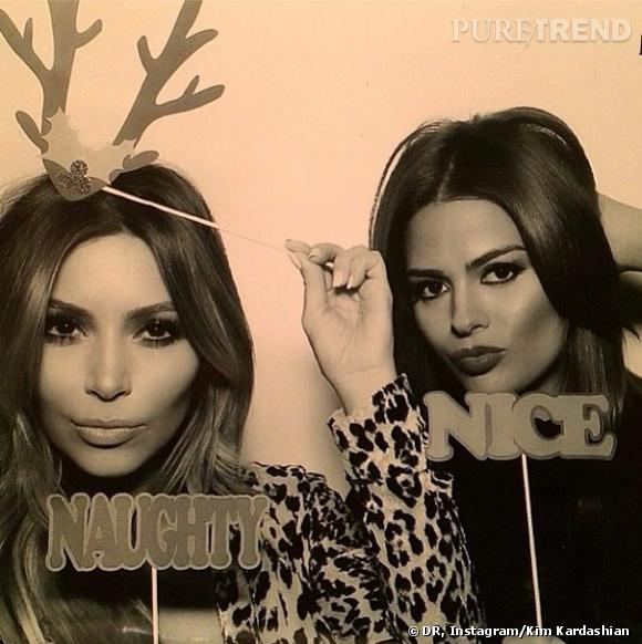 Les soeurs Kardashian s'amusent.
