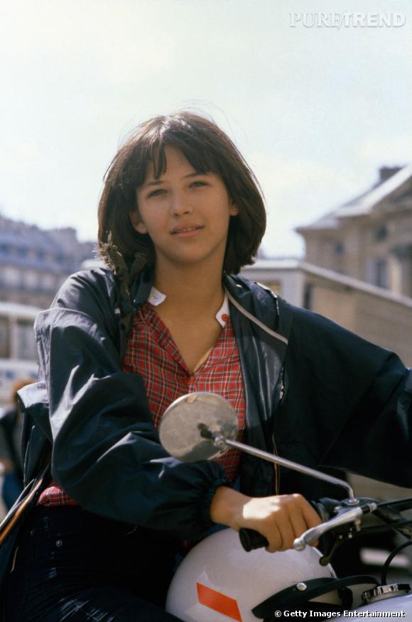 """Sophie Marceau découverte en 1980 dans """"La Boum""""."""