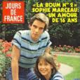 Sophie Marceau et Pierre Cosso pour Jours de France.