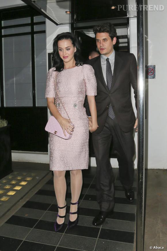 Katy Perry et John Mayer, un couple très exigeant.