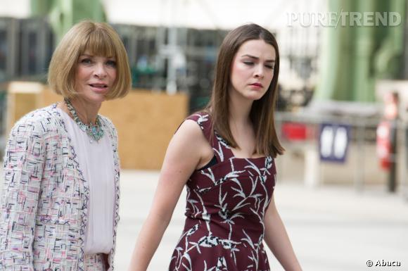 La mère et la fille écument les Fashion Week.